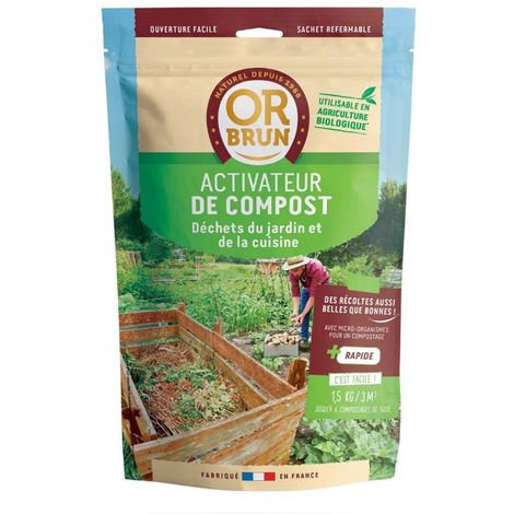 Engrais Activateur de compost 1.5Kg - Or Brun