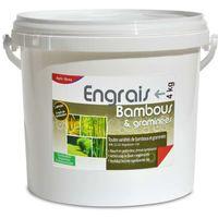Engrais bambous et graminées UAB. Fertilisant organique, seau de 4 kg