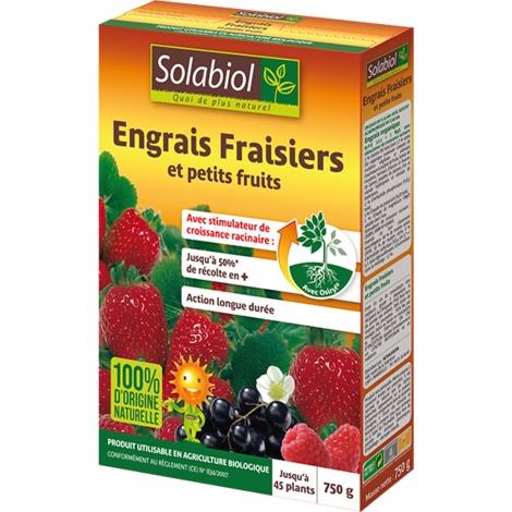 Engrais Fraisiers naturel Solabiol