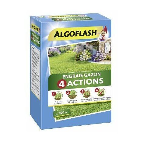 Engrais Gazon 4 actions 4KG