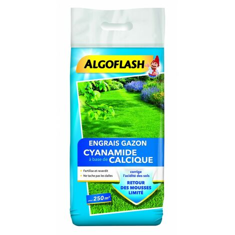 Engrais Gazon Cyanamide Calcique 12.5kg Algoflash