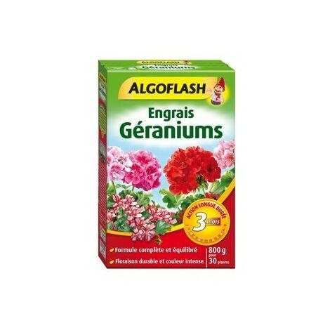 Engrais Géraniums Action prolongée 800g