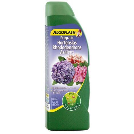 Engrais Hortensias Rhododendrons Azalées Algoflash 800mL