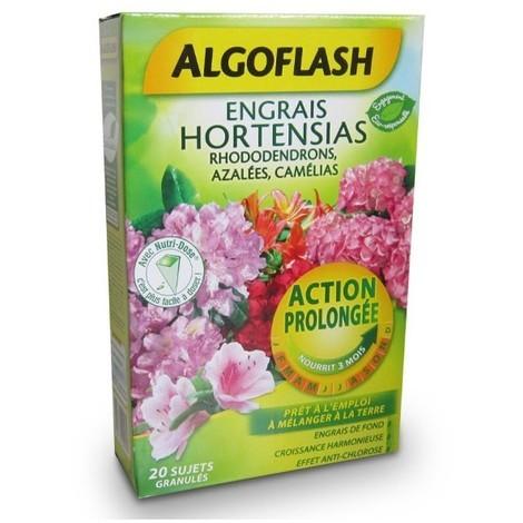 Engrais Hortensias Rhododendrons Azalées Camélias Action prolongée 800g