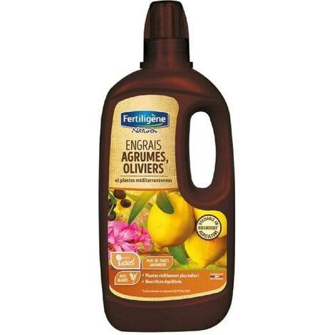 Engrais liquide agrumes oliviers plantes médit.750ml/nc Fertiligene