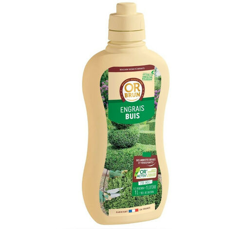 Engrais liquide Buis 1L - Or brun