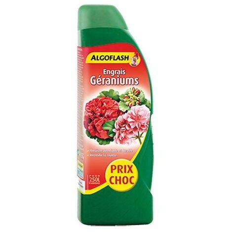 Engrais liquide Géraniums 500ml Algoflash 5.95€
