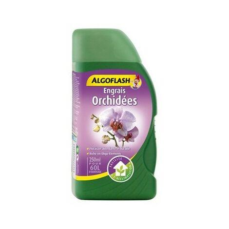 Engrais liquide Orchidées 250ml Algoflash