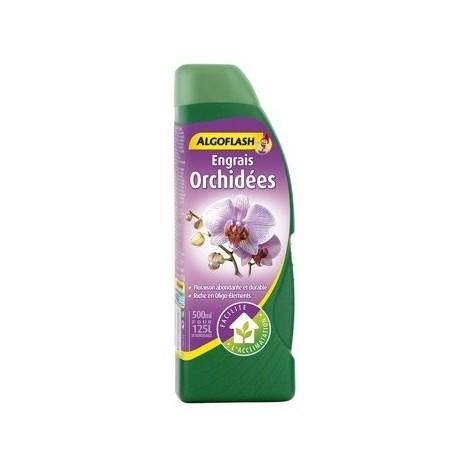 Engrais liquide Orchidées 500ml Algoflash