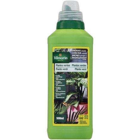 Engrais liquide PLANTES VERTES Vilmorin 4LG 500ml