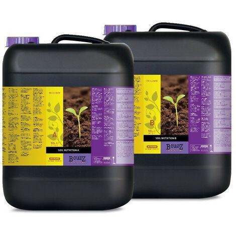 Engrais Nutrition Terre A+B 10L - B'Cuzz - Atami