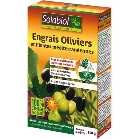 Engrais Oliviers et plantes méditerranéennes 750gr- SOLABIOL 251140