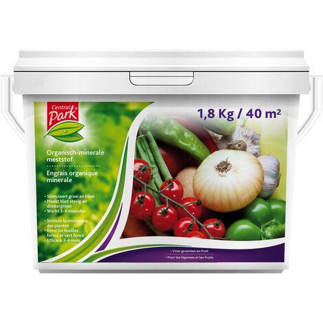 Engrais organique Central Park - Fruits et Légumes 1,8kg