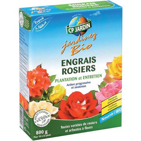 Engrais organique pour rosiers 800 gr