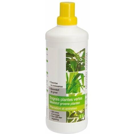 Engrais plantes vertes liquide bouteille 1 l