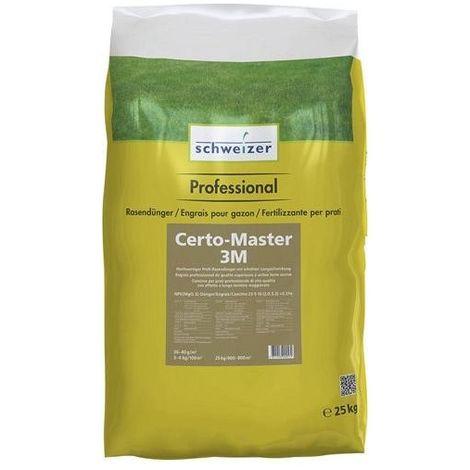 Engrais pour gazon 25kg Certo-Master 3M (Par 4)