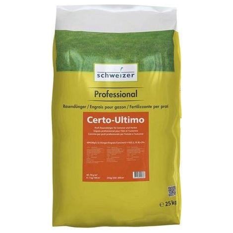 Engrais pour gazon 25kg Certo-Ultimo (Par 4)