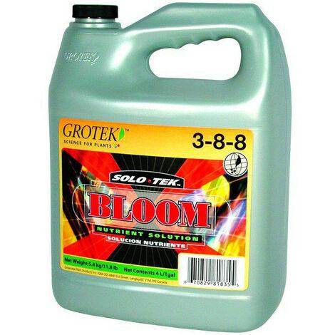 Engrais Solo-Tek Bloom 4L - Grotek - Floraison - hydro/terre/coco