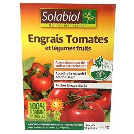 Engrais tomates et legumes fruits 1,5Kg Solabiol
