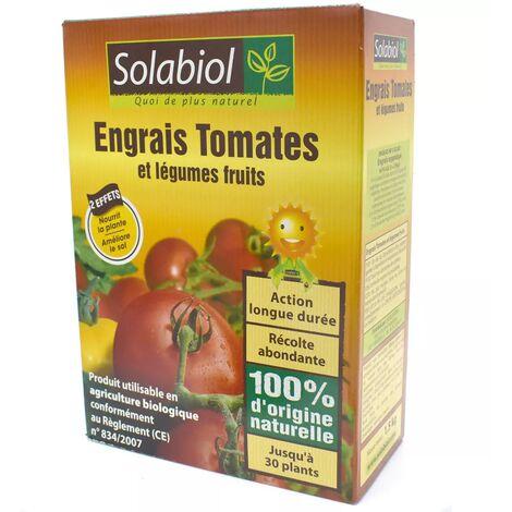 Engrais Tomates et légumes fruits - Boite de 1.5 kg