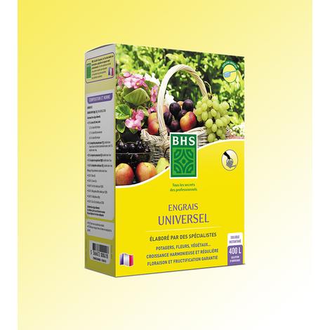 Engrais Universel - Boîte de 800 g pour 400 l d'eau - Engrais SPECIALISES
