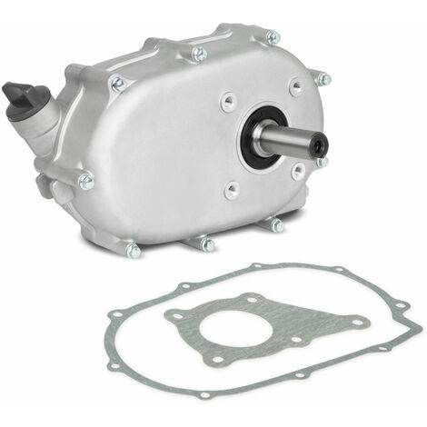 Engranaje reductor 2:1 embrague de baño de aceite para motores estacionarios de gasolina y diesel (eje de entrada Ø20mm, eje de salida Ø20mm, relación de reducción 2:1)