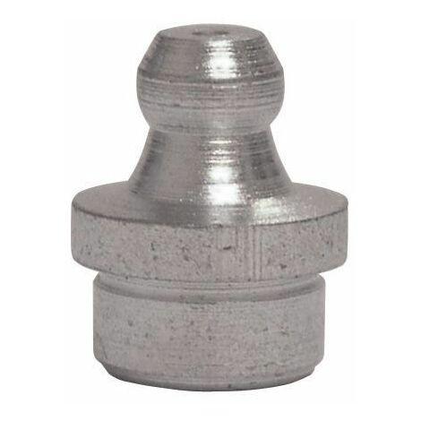 UMETA - Engrasador hidráulico recto sin rosca/embutición Material|Medida/paso-hilos - acero|Ø6mm