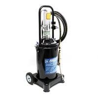 Engrasadora neumática profesional Tanque 12 litros Móvil Prensa engrase taller Prensa lubricación