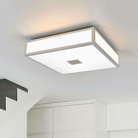 Eniola - square ceiling light, IP44