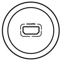 ENJOLIVEUR BLANC AUDIO VIDEO HDMI - Legrand
