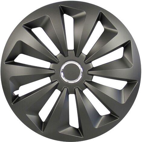 Enjoliveur cartrend Fox 70382 R15 noir (mat) 4 pc(s) A751081