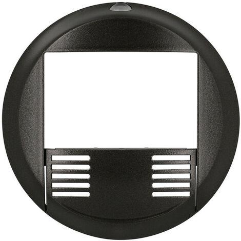 Enjoliveur Céliane détecteur avec bouton poussoir graphite (065094)