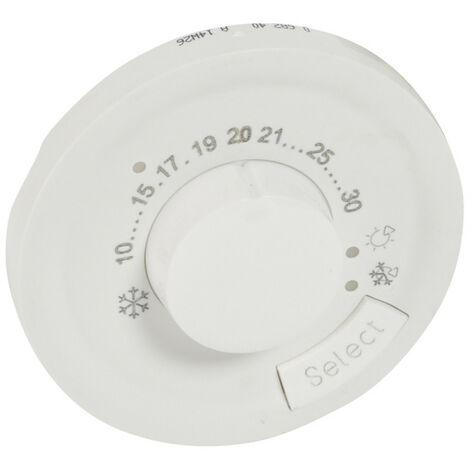 Enjoliveur Céliane pour thermostat d'ambiance Blanc (068240)