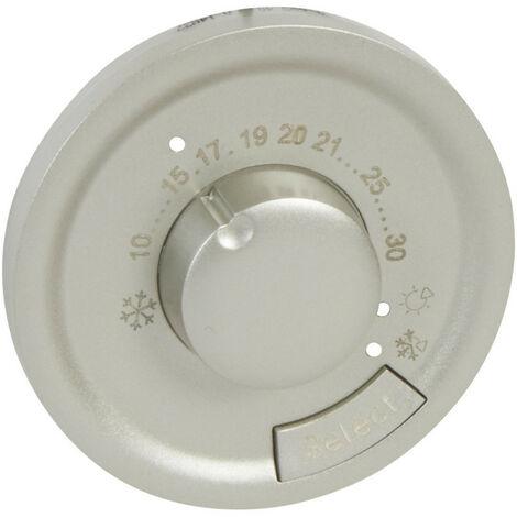 Enjoliveur Céliane pour thermostat d'ambiance finition titane (068540)
