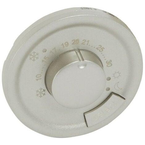 Enjoliveur Céliane pour thermostat fil pilote finition titane (068545)