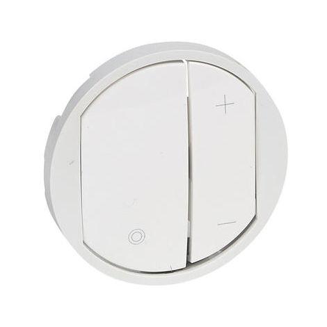 Enjoliveur Céliane pour variateurs - Blanc - Legrand