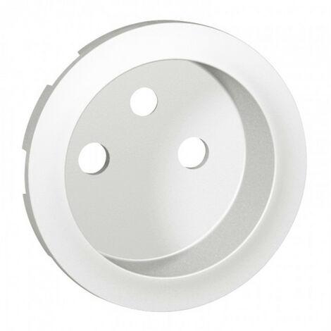 Enjoliveur Céliane - prise 2P+T standard - blanc (068112)
