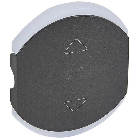 Enjoliveur double Céliane pour volets roulants graphite (064859)
