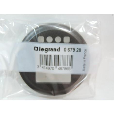 Enjoliveur graphite pour interrupteur horaire (067053) Celiane LEGRAND 067928