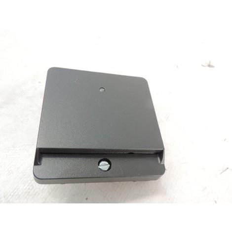 Enjoliveur pour interrupteur va & vient à carte anthracite série PLAN SCHNEIDER ELECTRIC MTN315414