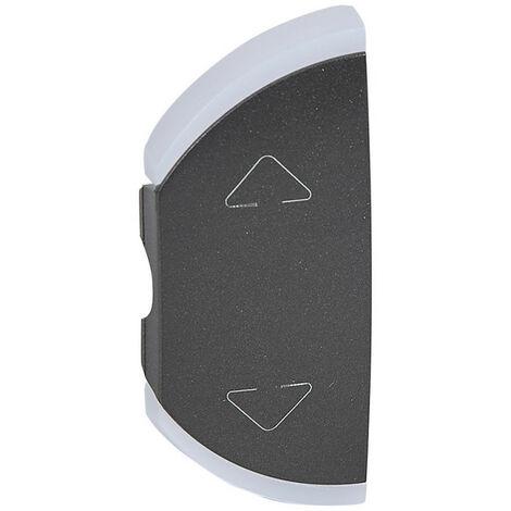 Enjoliveur simple Céliane pour volets roulants montage gauche ou droite graphite (064869)