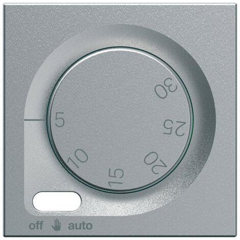 Enjoliveur thermostat fil pilote gallery titane (WXD316T)
