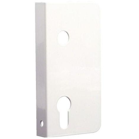 Enjoliveurs simples main gauche pour serrure de portail PVC