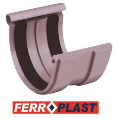 ENLACE CANALON PVC GRIS 33 207017
