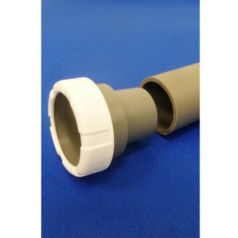 Enlace fontan mixto 40mm-11/2 pvc bl s&m