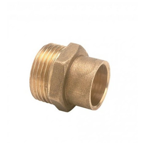 Racor de tuber/ía de lat/ón Niple hexagonal 1//8  1//4  3//8  1//2  Conector macho de rosca macho Cobre,03 a 04