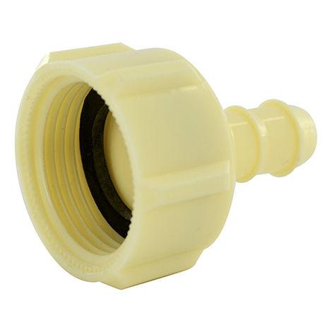 Enlace recto para tubo Ø10 - hembra G3/4