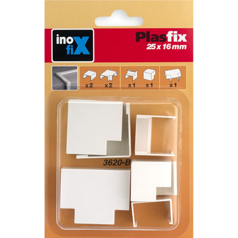 Enlace Regleta Blanco 25X16 Mm - INOFIX - 3620-2