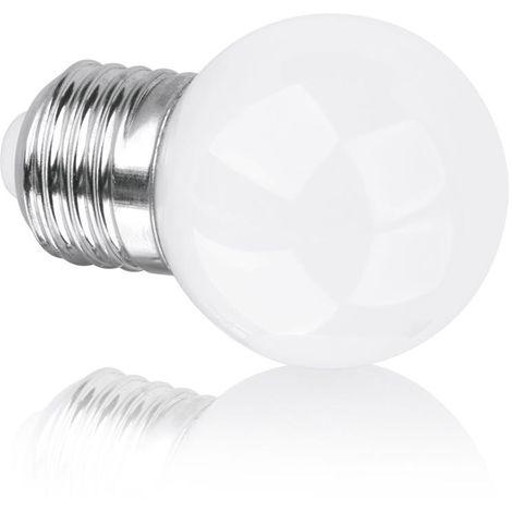 Enlite E360 E27 3W Non-Dimmable 360 Degrees Glass Golf Ball LED Lamp 2700K (EN-G45E273/27)