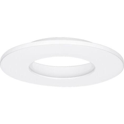 Enlite E5 Fixed IP65 Aluminium Downlight Bezel - Matt White - EN-BZE5MW
